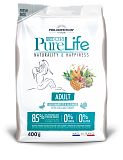 PURE LIFE ADULT WITH DUCK AND TURKEY 400 г